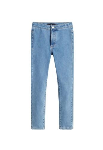 MANGO KIDS blue Super Skinny Jeans 53233KADF165B2GS_1