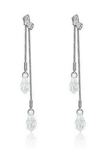Vivere Rosse silver Gillian Lariat Earrings VI014AC65LZEMY_1