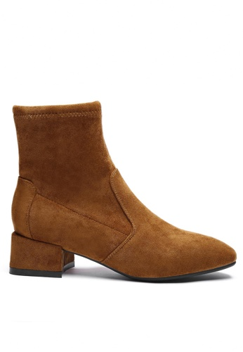 Twenty Eight Shoes Synthetic Suede Ankle Boots 2028-1 1667DSHED4054CGS_1