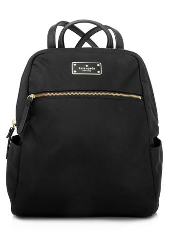 Kate Spade black Pre-Owned Kate Spade Blake Avenue Hilo Backpack ADE7CACFF0BD93GS_1