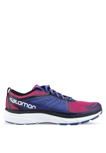 Salomon pink Sonic Ra W Shoes 9A2ADSH58E512FGS_1