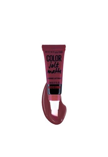 Maybelline red Color Jolt Matte Lip Paint - 10 Mad Blood 9FAFEBE4561BD2GS_1