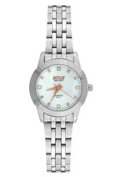 Bosck Women's Round Dial Stainless Steel Wrist Watch 5313