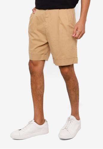 RAGEBLUE brown Casual Chino Shorts CC720AABA35B15GS_1