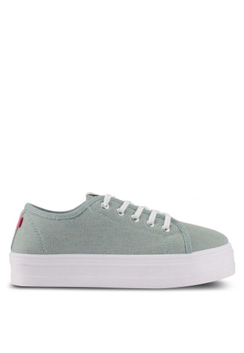 ONLY blue ONLY ONE Sarina Plain Sneakers 9A737SH9D1DF0AGS_1