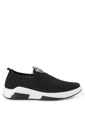 Declan black Conan Slip On Sneakers CF447SHD5A39CAGS_1