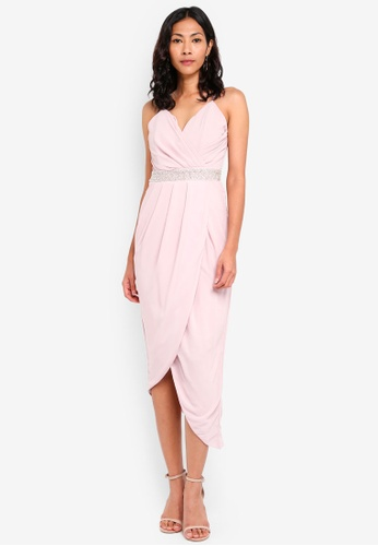 TFNC pink Hula Maxi Dress DE48FAA1498833GS_1