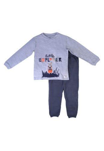 Babybol blue Children Pyjama 0D352KA39B40F5GS_1