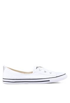 51d35ab1ba72 Converse white Chuck Taylor All Star Ballet Lace Core Slip Ons  270FBSHF3A7FBDGS 1