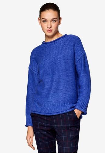 ESPRIT blue Long Sleeve Sweater F778DAA19F0980GS_1