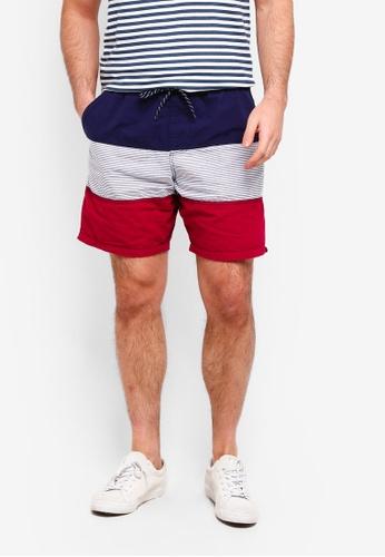 Factorie 多色 Street Shorts B1214AA57E9C91GS_1