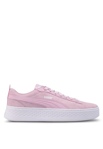 99be408313c Buy Puma Core Puma Smash Platform SD Shoes Online on ZALORA Singapore