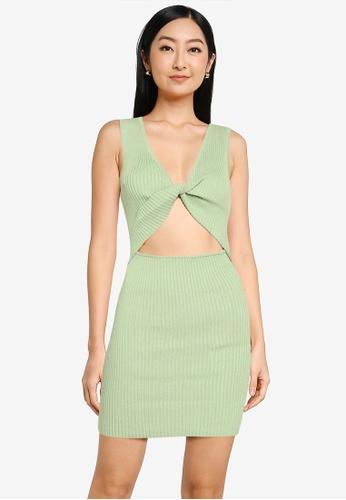 Supre green Pearl Reversible Mini Dress DDBAFAA8C68CCEGS_1