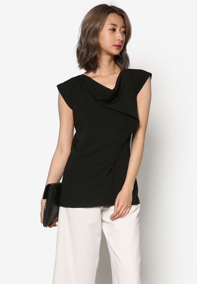 Front Draped Top