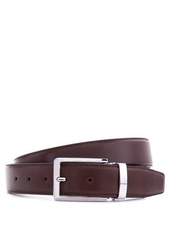 Burlington brown Leather Belt   BU456AC58UCZPH_1
