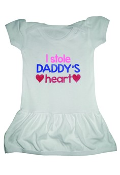 I Stole Daddy's Heart - Skirty Onesie