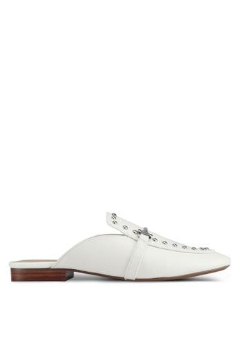 ALDO white Vergemoli Loafers 5B06ESHF06BAEEGS_1