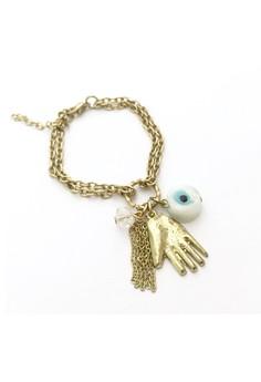 Hamsa and Evil Eye Bracelet