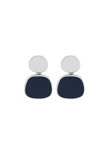 LYCKA blue LDR1262 S925 Silver Elegant Morandy Stud Earrings F3C2DAC0A2419BGS_1