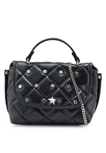 La Fille Des Fleurs black Princess Crossbody Bag 4885EAC418A3E8GS_1
