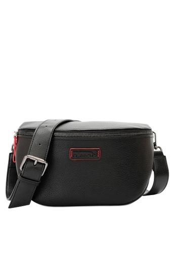 Playboy black Men's Sling Bag / Chest Bag / Crossbody Bag CAEB6ACA4C4A57GS_1