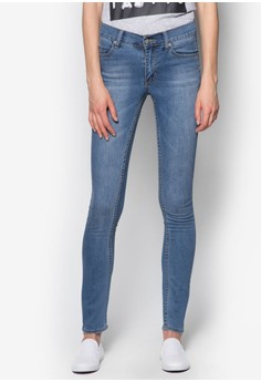 Tight Rise Above Jeans