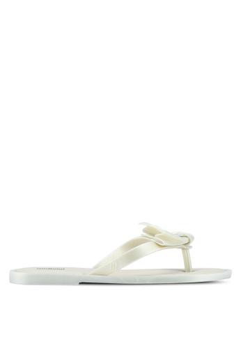 Melissa 白色 Melissa Comfy Ad 涼鞋 EC1AFSH2C3EEFDGS_1