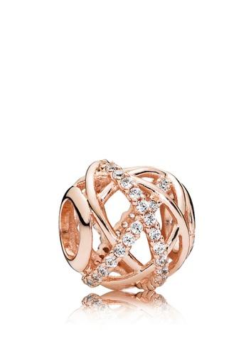 pandora rose gold teardrop ring