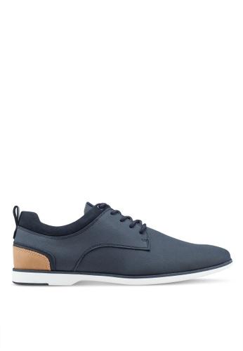 ALDO 海軍藍色 Voedien Derby Shoes 01047SH1BA9717GS_1
