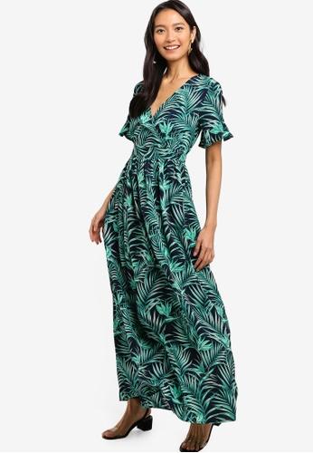 0c0220cea84 Shop ZALORA Wrap Maxi Dress Online on ZALORA Philippines