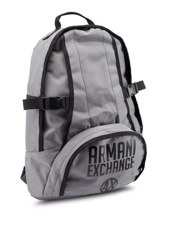 Buy Armani Exchange Urban Logo Backpack Online on ZALORA Singapore 86ba2fd119763