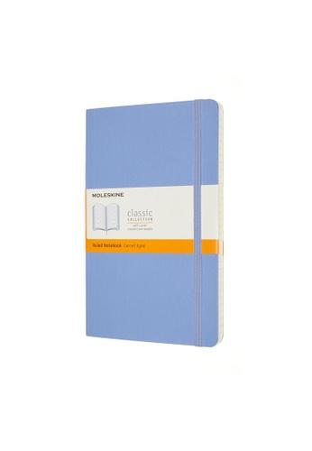 Moleskine blue Classic Notebooks Ruled Soft Blue Large 713CEHL78FEC37GS_1