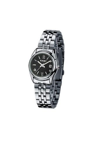 Eyki black and silver Eyki E-Times W8470 Steel Watch One pair (Silver Black) EY078AC08RNBMY_1