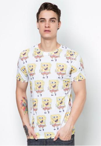 海綿寶寶印花TEE, 服飾esprit官網, T恤