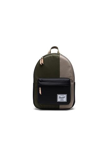 Herschel green Herschel Classic X-Large - Ivy Green/Black/Timberwolf Backpack 59D2EACCF806C2GS_1