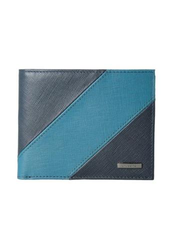 CROSSING blue Crossing Edge Bi-fold Wallet RFID - Indian Ink/Shaded Spruce 9D661AC217A909GS_1