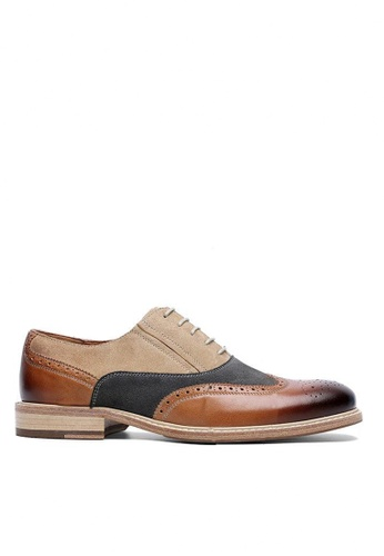 Twenty Eight Shoes British Vintage Leather Suede Oxford DS6852 E584ESH526C71FGS_1