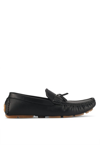 UniqTee black Slip On Loafer With Tassel 20BD5SH5610226GS_1