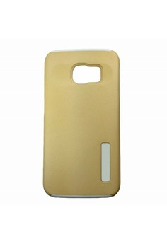DualPro Shockproof Case for Samsung Galaxy S7 (Gold)