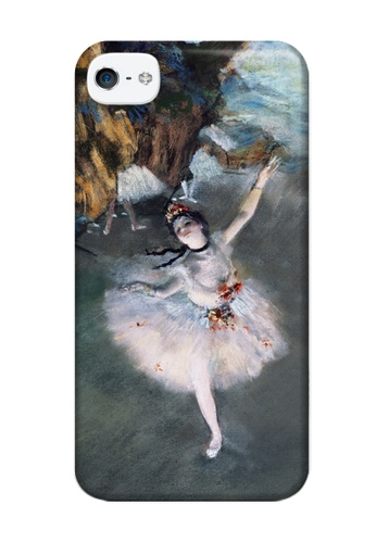 Wonder Cover multi Prima Ballerina Matte Hard Case for iPhone 4,4s WO617AC01YTIPH_1
