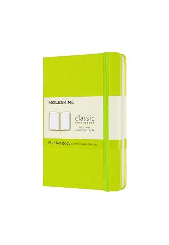 Moleskine green Classic Notebooks Plain Hard Green Pocket 0A8C6HL6A80CCFGS_1