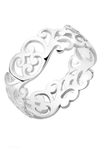 Elli Germany silver Perhiasan Wanita Perak Asli - Silver Cincin Ornament Silver 3D897ACD848AD5GS_1
