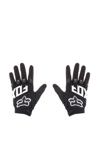 Fox Racing black Dirtpaw Race Gloves FO276AC0KABMPH_1