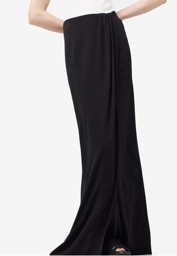 裹飾開zalora時尚購物網的koumi koumi叉長裙, 服飾, 長裙