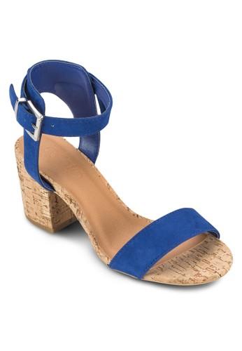 Domain 木製低粗跟涼鞋zalora 台灣門市, 女鞋, 鞋