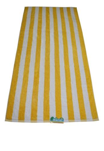 Martel yellow Martel Beach Towel Stripes A215EHL595010EGS_1
