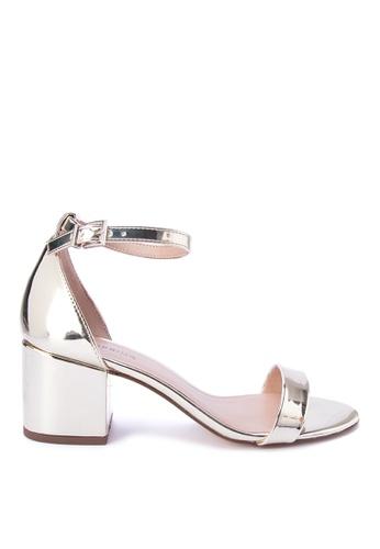 Call It Spring gold Elerranna Block Heel Sandals CA427SH0KL6EPH_1