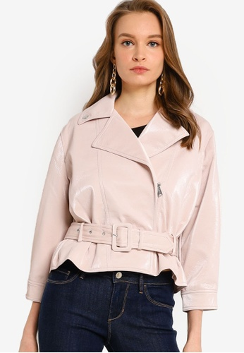 GUESS beige Terry Jacket 9F366AAB4B194EGS_1