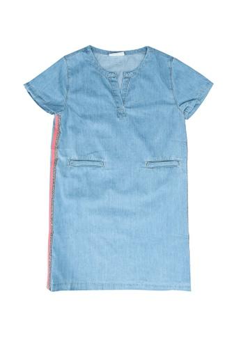 LC Waikiki blue Girl's Jean Dress 92BC2KAADEFA92GS_1