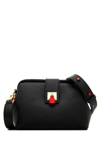 BONIA black Black Voyager Framed Bag FD21DAC6409751GS_1